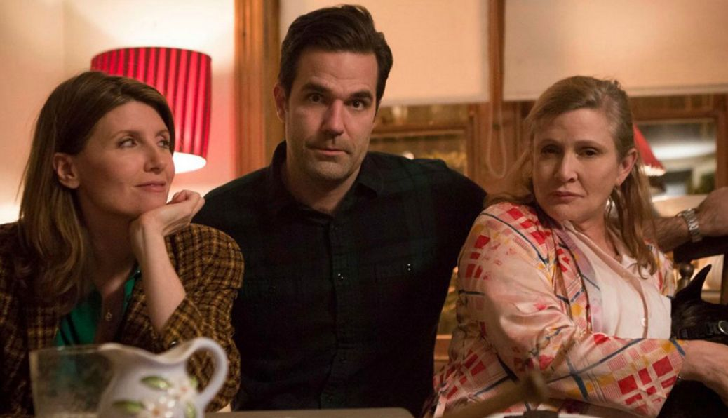 'Catastrophe' Stars Reveal They're 'Not Ready To Write Out Carrie Fisher's Awful