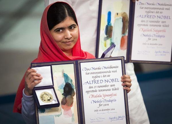 "Malala Yousafzai was <a href=""http://www.telegraph.co.uk/news/worldnews/asia/pakistan/10375633/Malala-Yousafzai-recounts-mome"