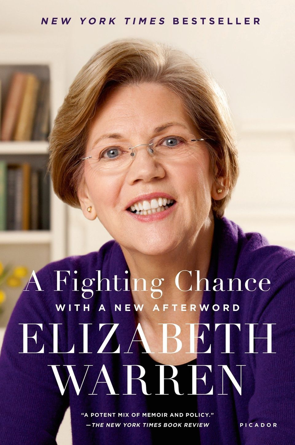 The persistent woman who was the original target of McConnell's critique, Warren is an accomplished author -- and the fi