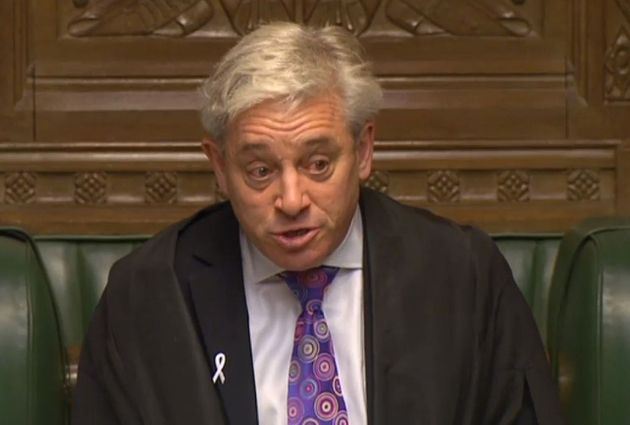 Tory MP Says John Bercow Has 'Lost Confidence Of The House' And Wants Free Vote Against