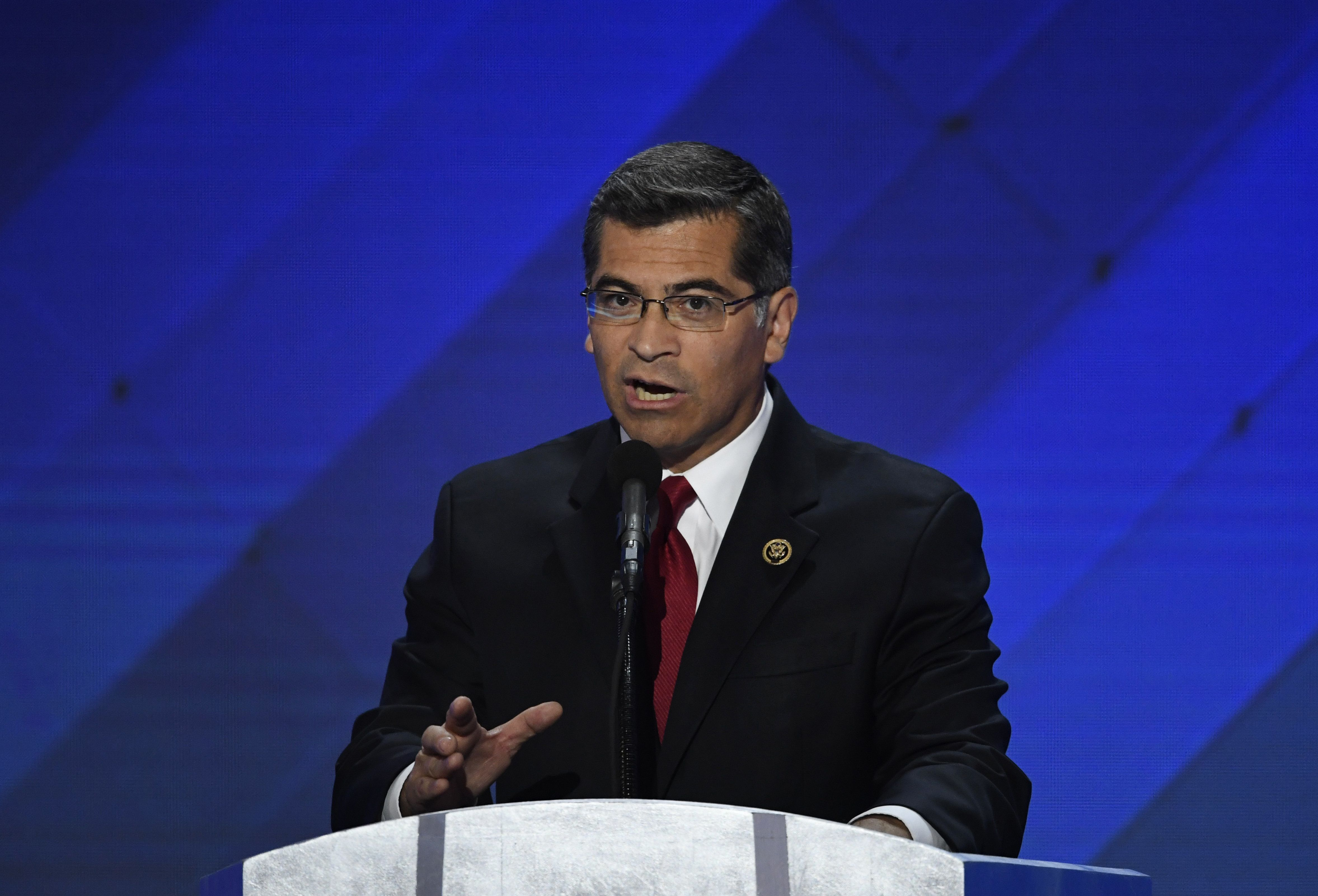 California Attorney General Xavier Becerra is one of many California leaders resisting Trump and his policies.