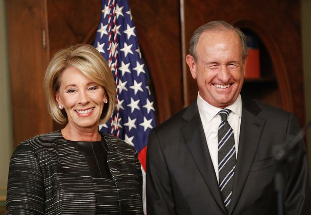 Betsy DeVos and her husband Dick