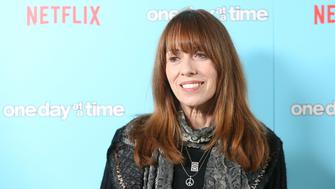 WEST HOLLYWOOD, CA - DECEMBER 14:  Mackenzie Phillips arrives at the Los Angeles premiere of Netflix's 'One Day At A Time' held at The London West Hollywood at Beverly Hills on December 14, 2016 in West Hollywood, California.  (Photo by Michael Tran/FilmMagic)