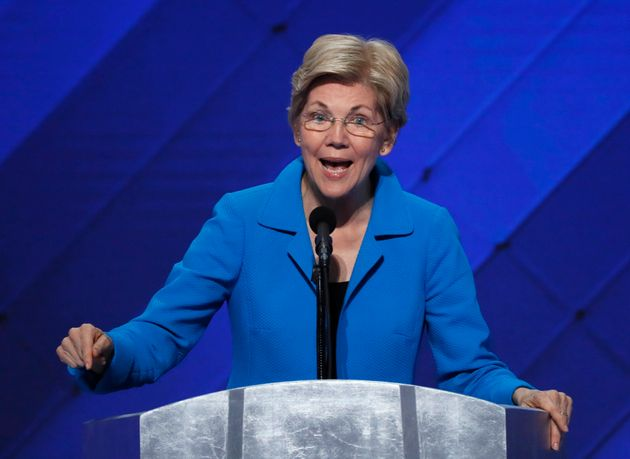 Mike Segar  Reuters Sen. Elizabeth Warren is not easily silenced