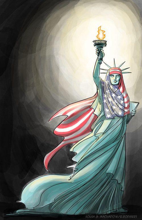 """Liberty's Hijab"""