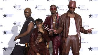 Jodeci pose during the 1st Annual BET Awards June 19, 2001 at the Paris Hotel and... (Photo by Gregg DeGuire/WireImage)