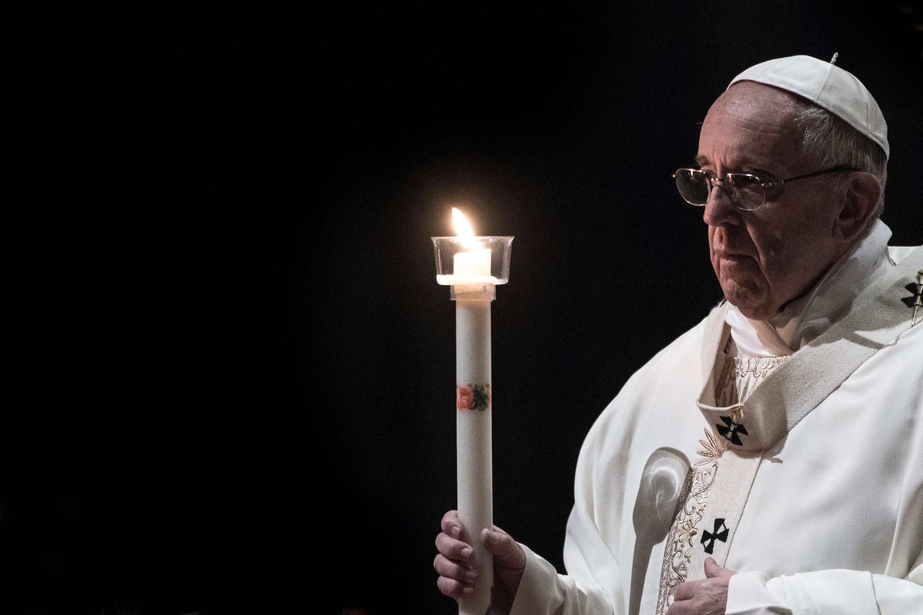 "In his Lenten address, Pope Francis urged Christians to give up the ""love of money"" and care for their fellow human beings."
