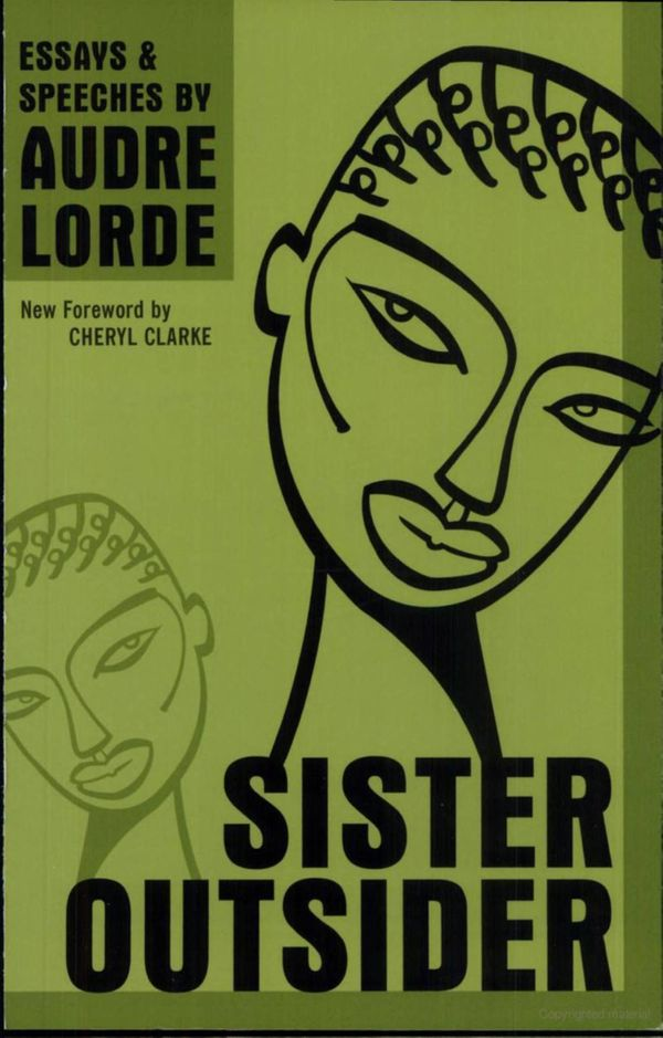 Audre Lorde's fiery speeches and fierce writing cast an unvarnished eye on the historical silencing of women, especially blac