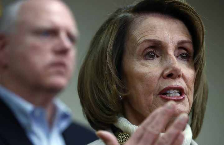 Nancy Pelosi To Press: Donald Trump Is 'Coming After You'