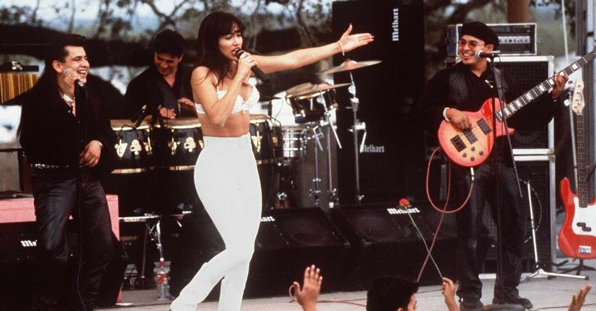 selena quintanilla�s widower finally watches selena two
