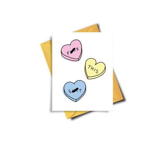 "Buy it <a href=""https://www.etsy.com/listing/486134270/funny-valentine-card-fuck-valentines-day?ga_order=most_relevant&ga"