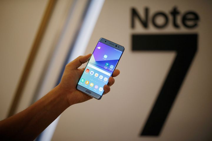 Samsung issued a massive recall for its Galaxy Note 7 smartphones after instances of the product's batteries catching fire.