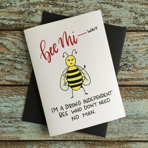 """Buy it <a href=""""https://www.etsy.com/listing/502779563/independent-valentines-day-card-anti?ga_order=most_relevant&ga_sea"""