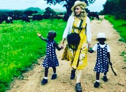 Madonna Confirms She Has Adopted Malawian Twin Girls With This Adorable Instagram Snap
