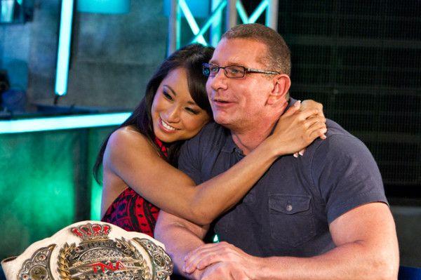 Pro wrestling superstar Gail Kim married celebrity chef Robert Irvine in 2012.