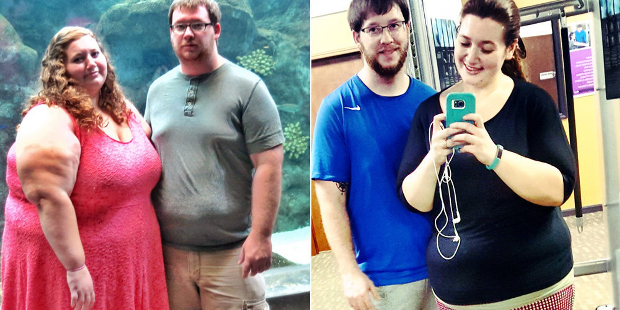 Couple Reveal How They Lost Half Their Body Fat In 12