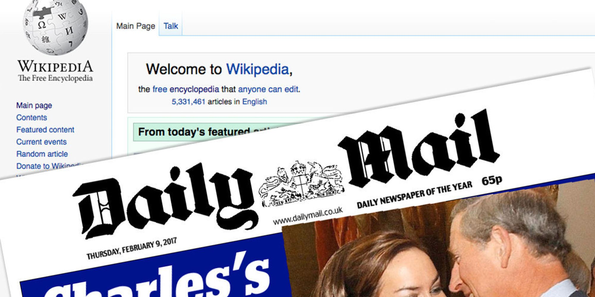 Gally Mail: Daily Mail Banned As 'Reliable Source' On Wikipedia In
