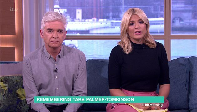 Holly Willoughby Shares Incredible Story About Tara Palmer-Tomkinson On 'This Morning' That Perfectly...