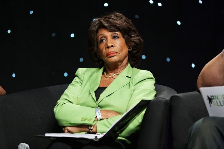 "Waters' disposition is quite reminiscent of that of '<a href=""https://www.huffpost.com/entry/rep-maxine-waters-drags-trump_n_"