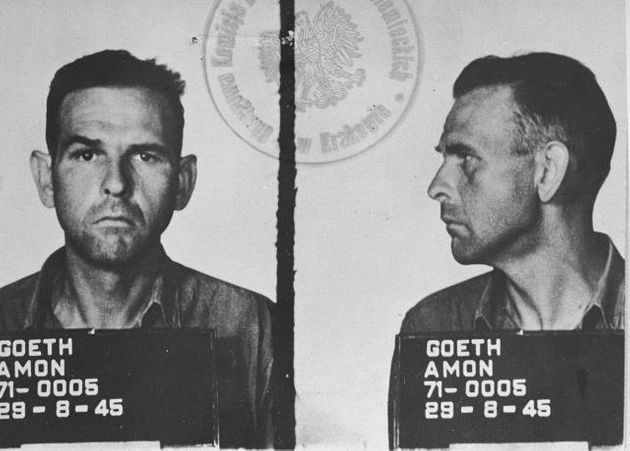 Amon Goeth was arrested by US troops in