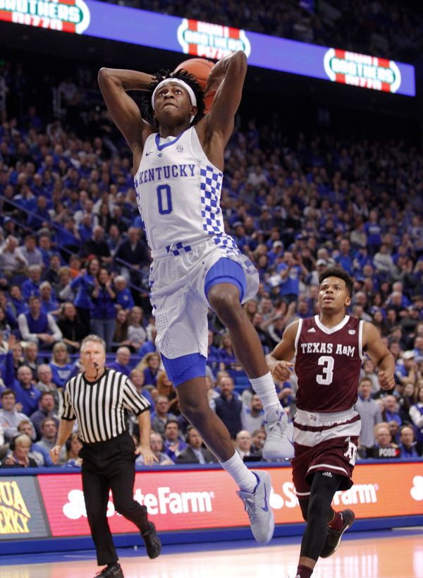 The fastest guard in America -- and it's not even close. Fox, who is 6-foot-3, runs the show for John Calipari and Kentu