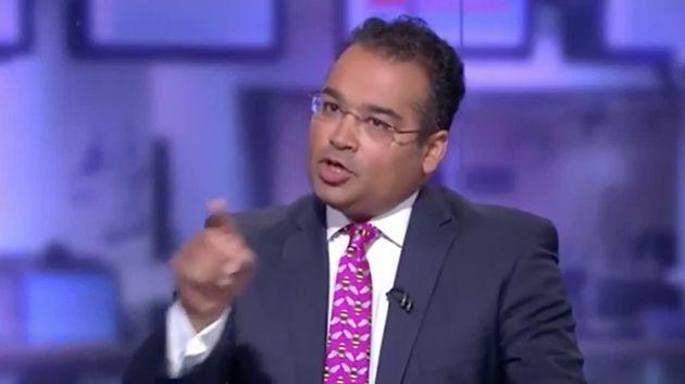 Krishnan Guru-Murthy struggled to keep the interview under control at