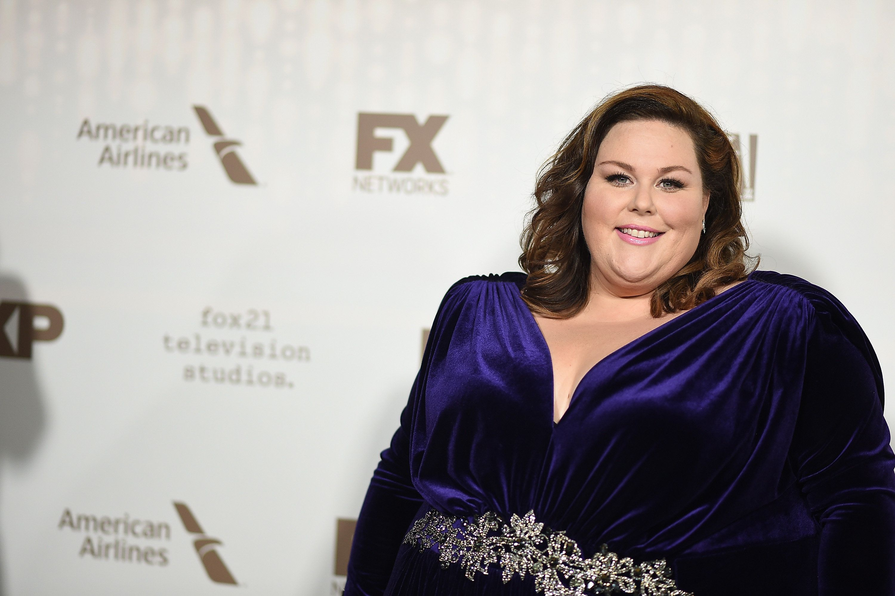 BEVERLY HILLS, CA - JANUARY 08: Actress Chrissy Metz attends FOX and FX's 2017 Golden Globe Awards after party at The Beverly Hilton Hotel on January 8, 2017 in Beverly Hills, California.  (Photo by Jennifer Lourie/Getty Images)