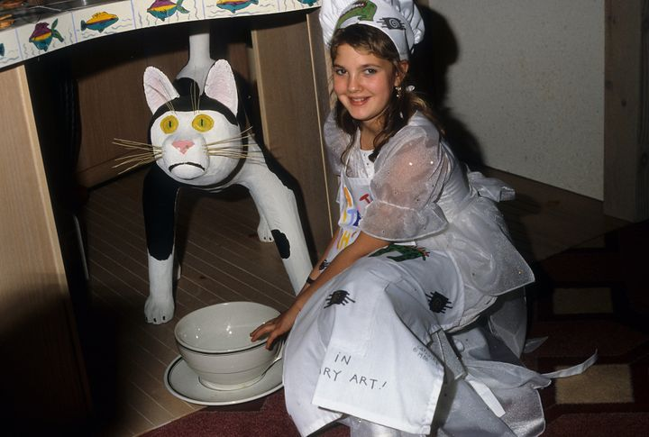 """Drew Barrymore appears on a 1986 episode of """"Cooking with the Stars."""""""
