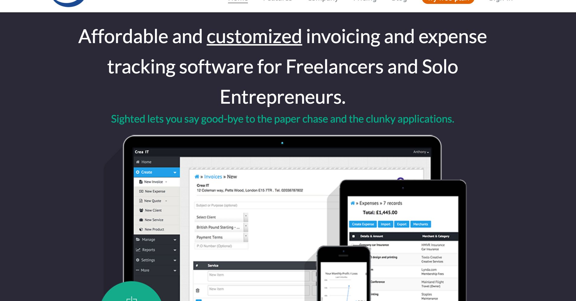 Top Best Free Invoicing Software Tools For Small Businesses - Best free invoicing software for small business for service business