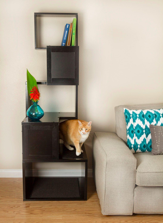 5 Sebastian Modern Cat Tree. Designer Pet Products