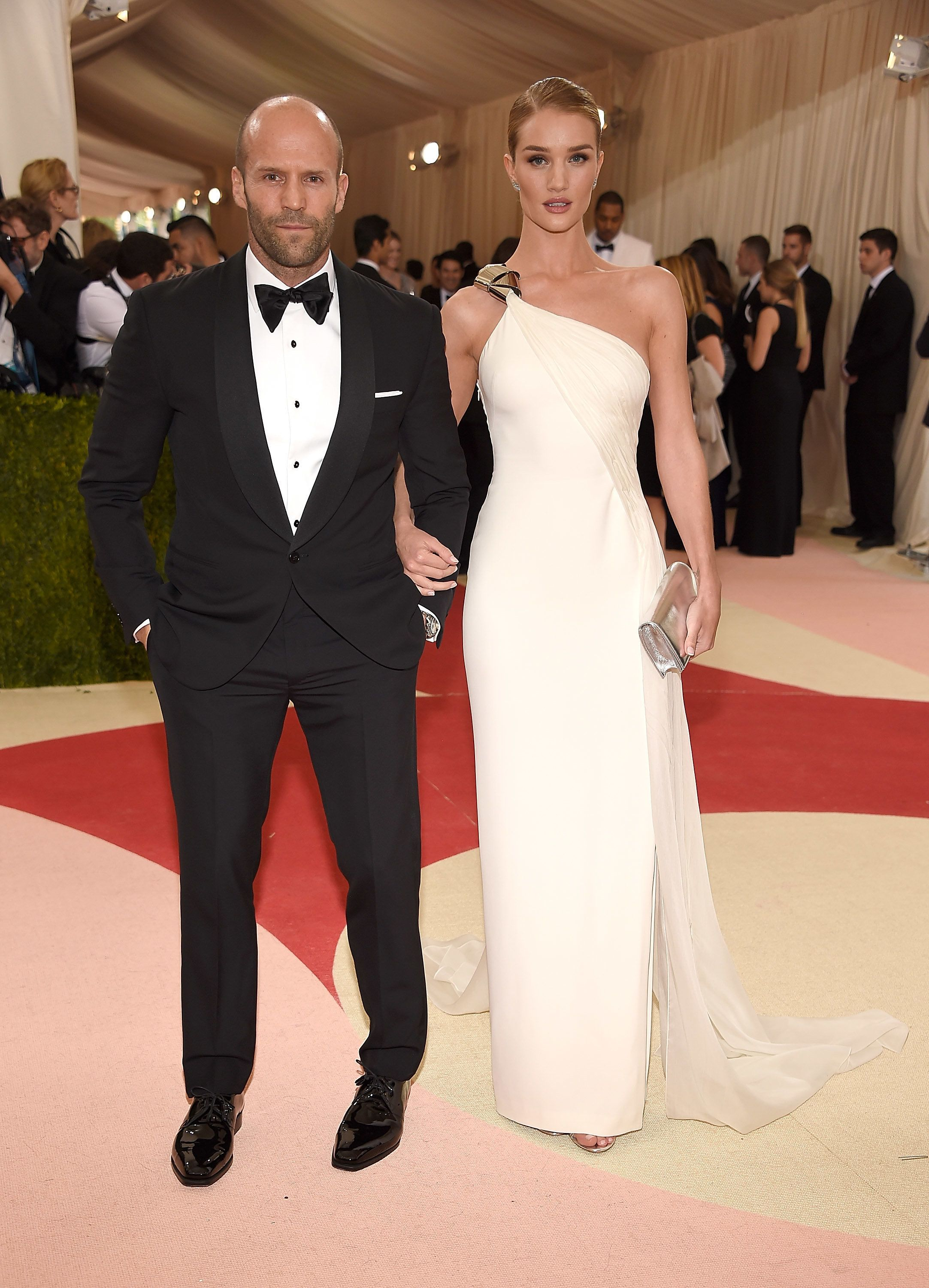 Jason Statham And Rosie Huntington-Whiteley Are Expecting Their First