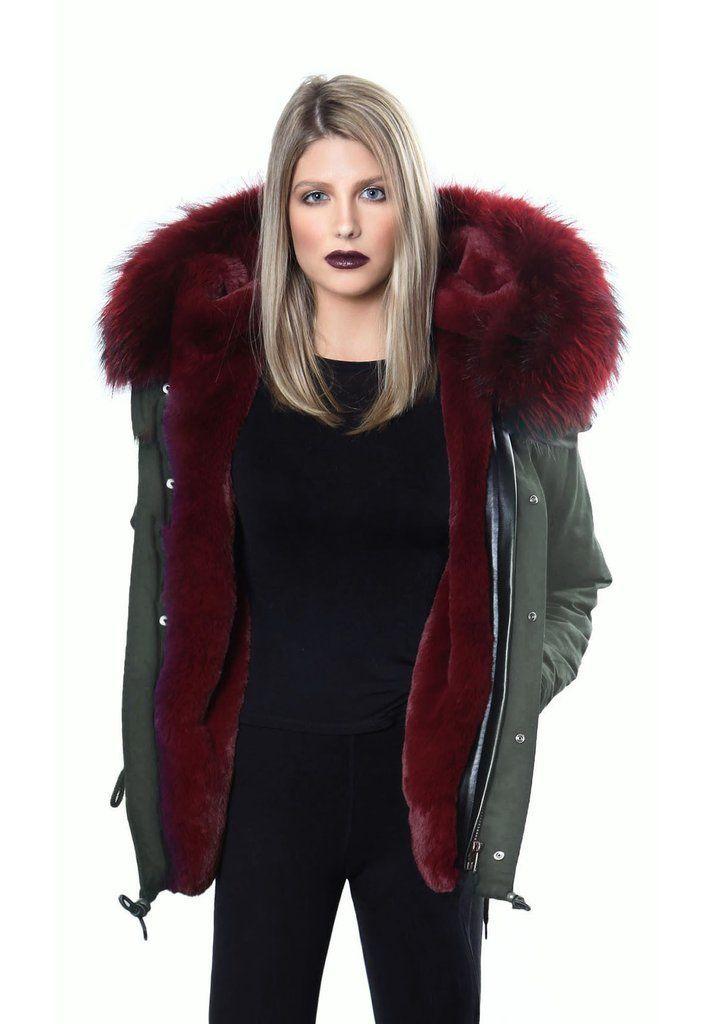 Damiani NY Red Fox Fur