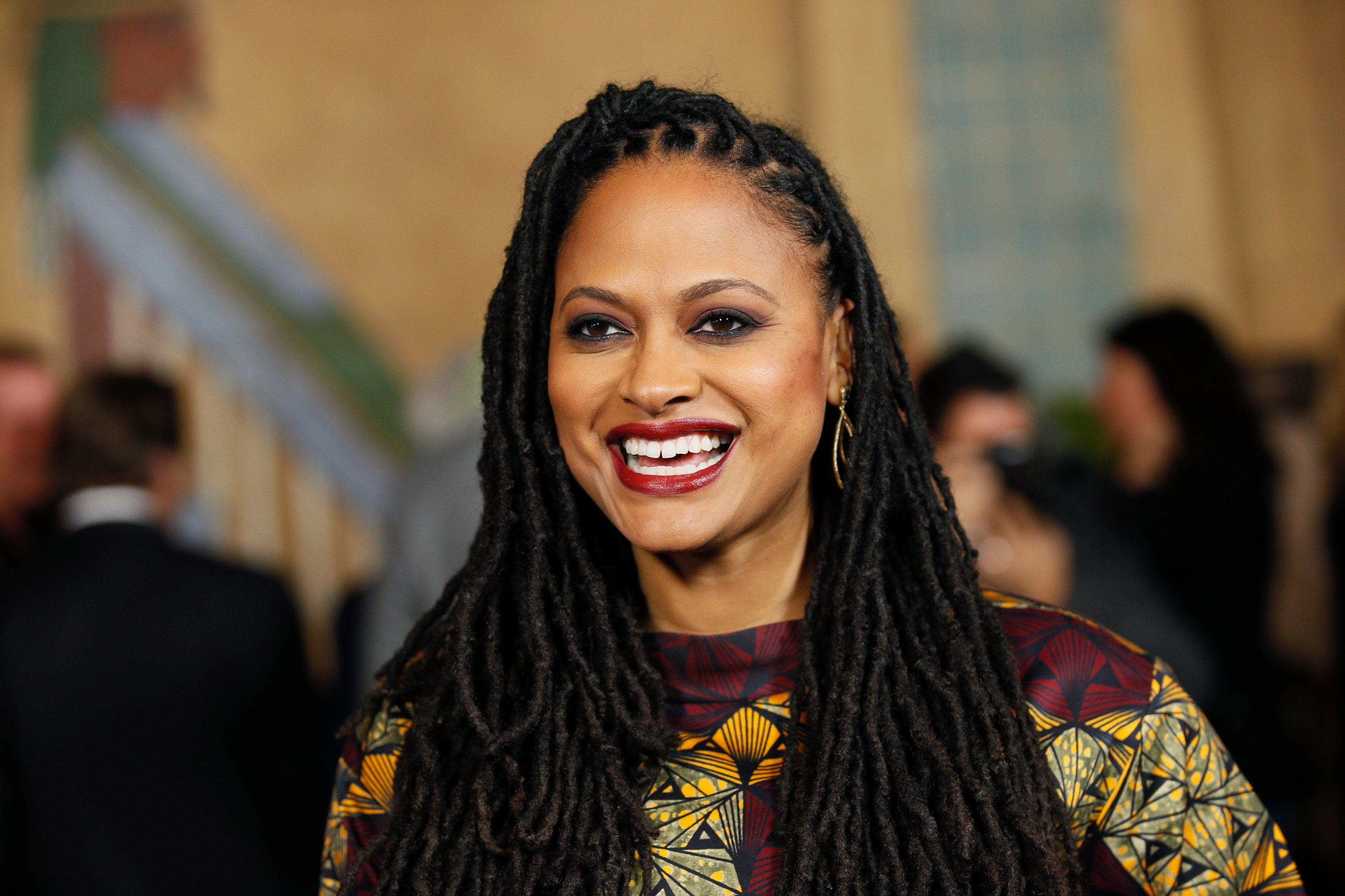 "Director and executive producer Ava DuVernay poses at a screening of the film ""Selma"" during AFI Fest 2014 in Hollywood, California November 11, 2014. REUTERS/Danny Moloshok  (UNITED STATES - Tags: ENTERTAINMENT)"