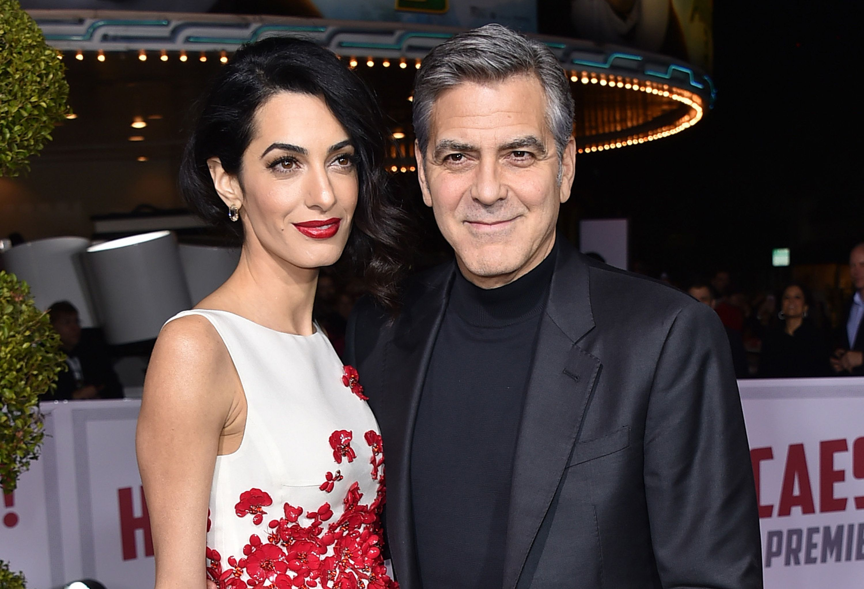 Amal Clooney Pregnant With