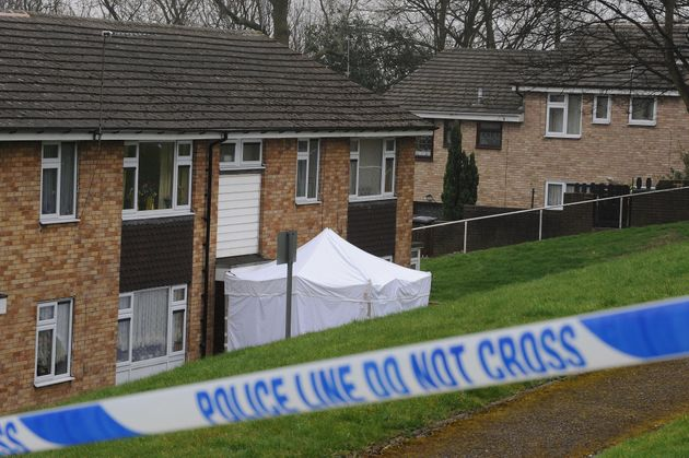 The scene at Lidgate Gardens, Batley Carr, where Shannon was found in a base of a divan