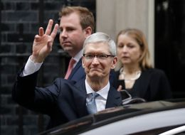 Tim Cook Has A Reassuring Message For Britons About Brexit