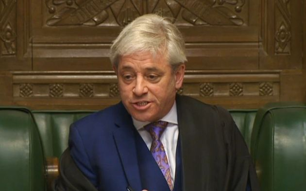 Bercow has been targeted since speaking out about Donald Trump's state