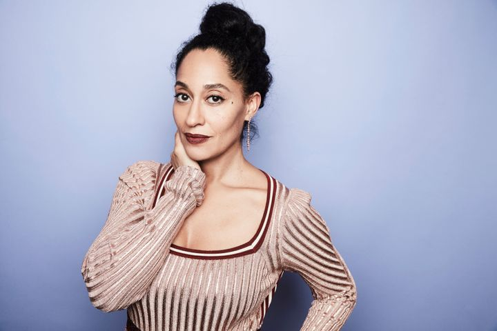 Tracee Ellis Ross from ABC's 'Black-ish' poses in the Getty Images Portrait Studio at the 2017 Winter Television Critics Asso