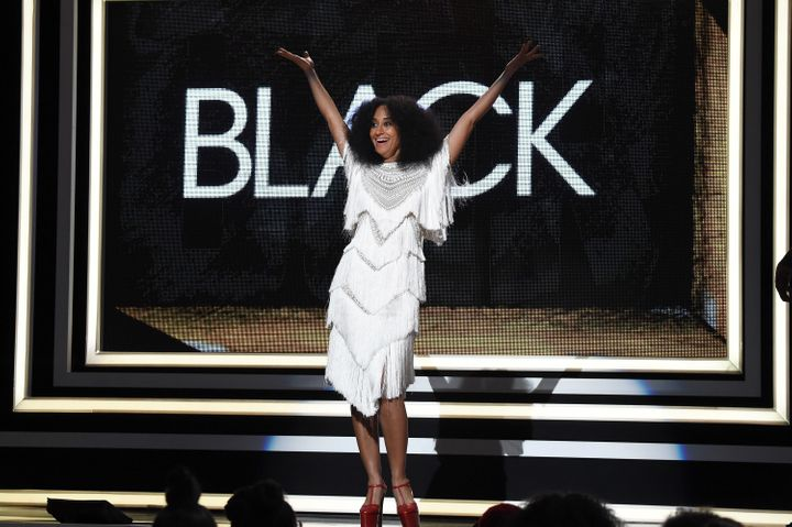 Tracee Ellis Ross speaks onstage during Black Girls Rock! 2016 on April 1, 2016.