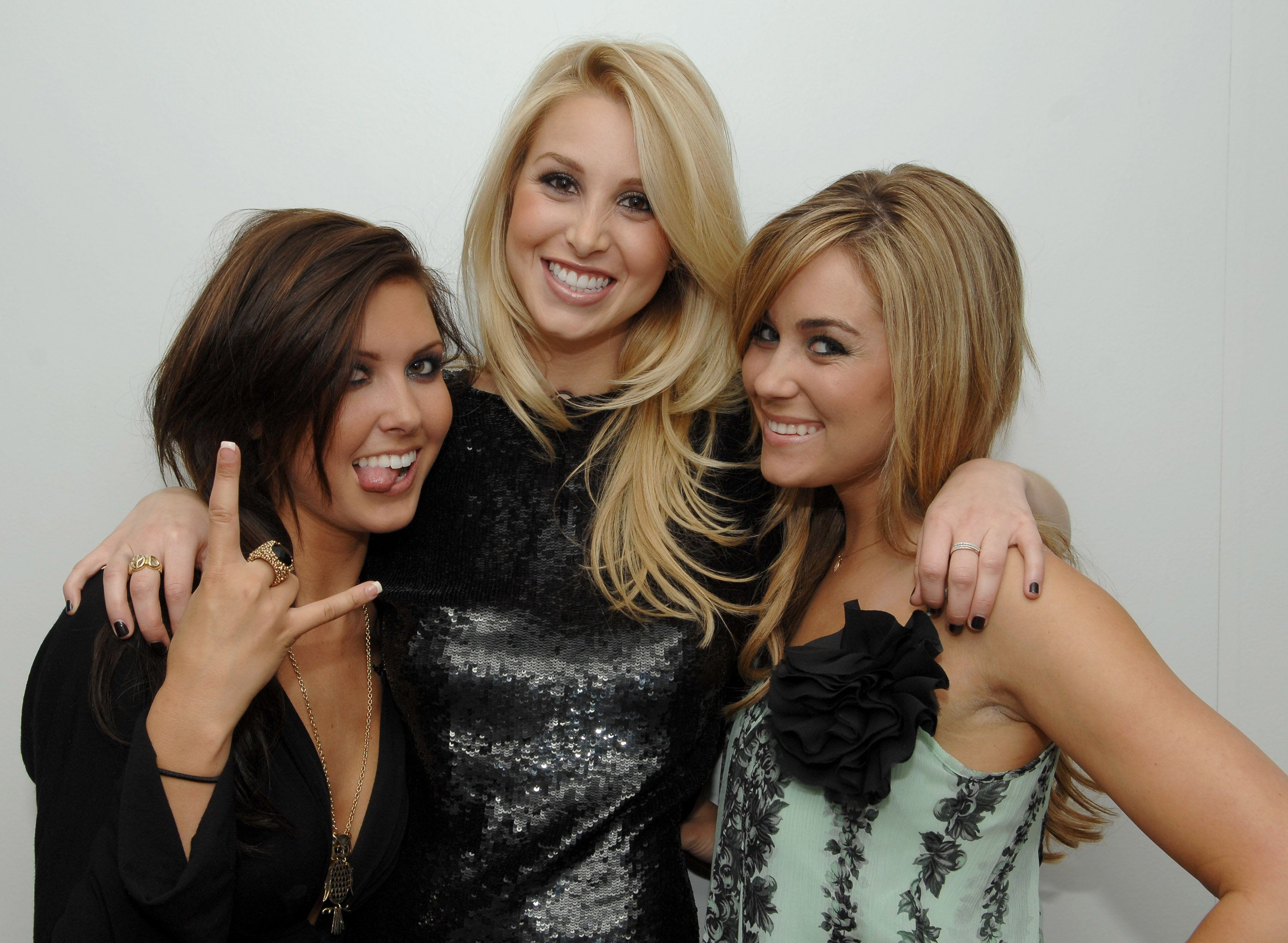 Audrina Patridge, Whitney Port and Lauren Conrad (Photo by Dimitrios Kambouris/WireImage)