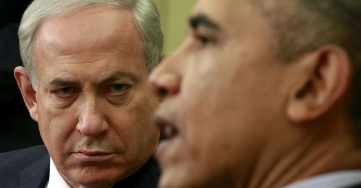 Israeli Prime Minister Benjamin Netanyahu clashed with former President Barack Obama on subjects including the Iran nucl