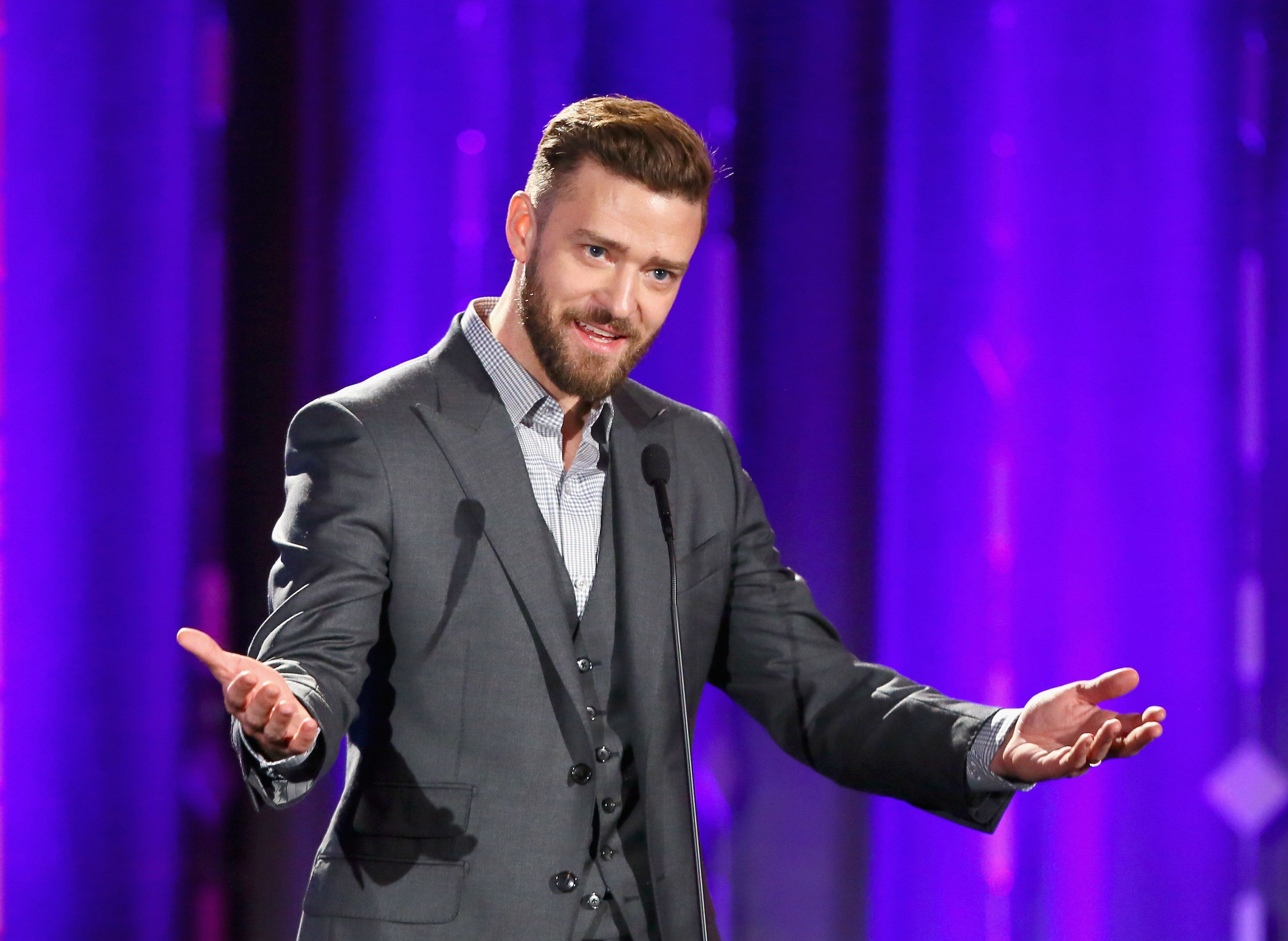 Justin Timberlake opened up about being a first-time dad in an interview with The Hollywood Reporter.