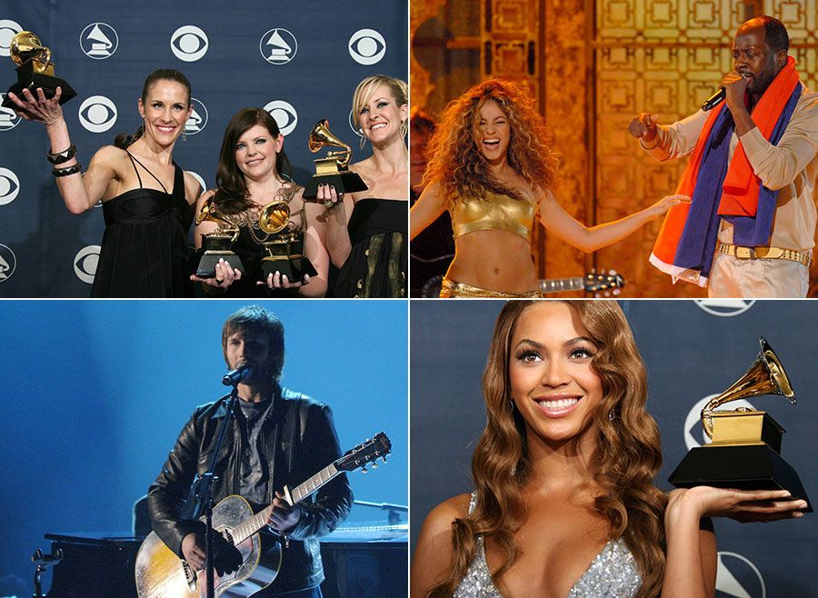 This Is What The Grammys Looked Like 10 Years