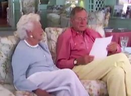 George H.W. Bush Reads A Decades-Old Love Letter to His Wife, Barbara