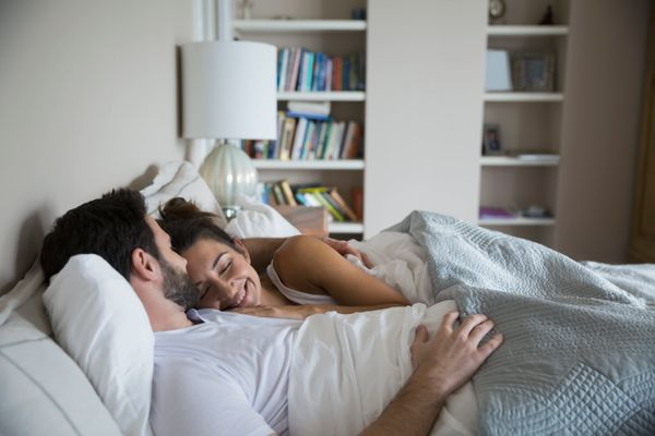 Your bed is a sanctuary for you and your partner, which is why making time to snuggle up to your S.O. is key for healthy coup