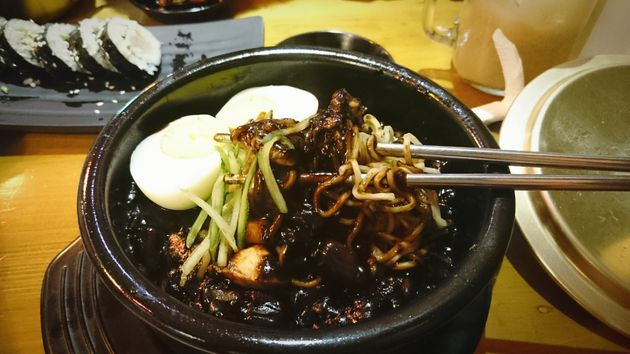 A delicious bowl of jajangmyeon is way better than a