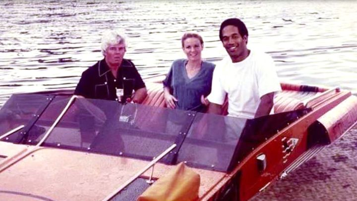O.J. and Nicole Brown Simpson purchased a boat from Eugene Hicks and his partner, Thomas Adams, who is pictured on the left.