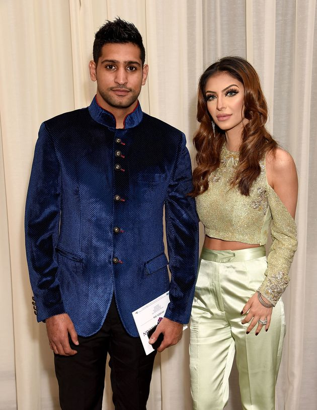 Amir and Faryal at the 2016 Pride Of Britain