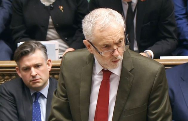 The reprimand emerged after Corbyn considered what disciplinary action would follow after 52 MPs ignored