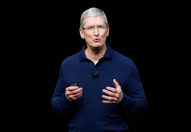 Apple boss Tim Cook has said fake news is 'killing people's